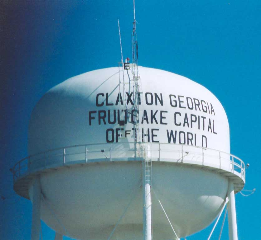 Claxton Ga Fruitcake And Rattlesnakes Searching The South