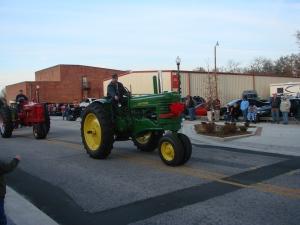 Tractors.